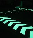 3. Светящаяся + светоотражающая краска для дорожной разметки